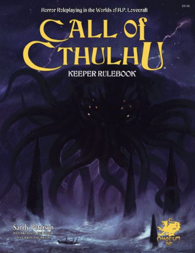 Call of Cthulhu 7th Edition:  Keeper Rulebook